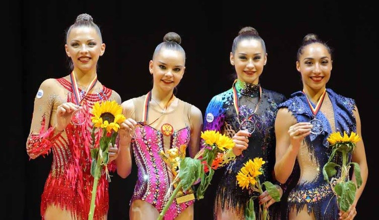 Russia's Dina Averina secured the all-around gold medal ©Berlin Masters