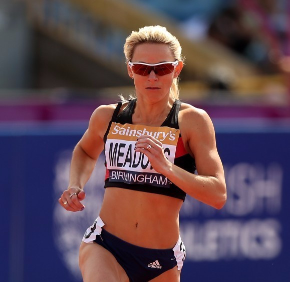 British athlete Jenny Meadows believes Russian whistleblower Yulia Stepanova has earned the right to compete under the Olympic flag at the Rio 2016 Games ©Getty Images