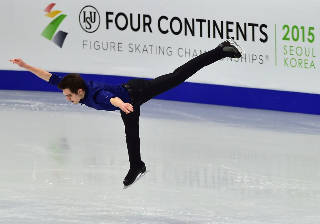 Joshua Farris won silver at last year's Four Continents Championships in Seoul ©Getty Images