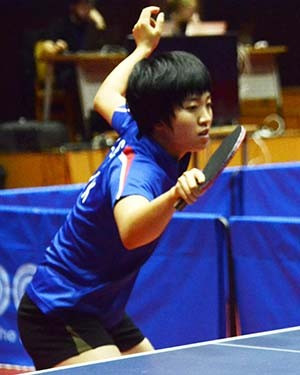 Kim overcomes Ri in all-North Korean women's singles final at ITTF Pyongyang Open