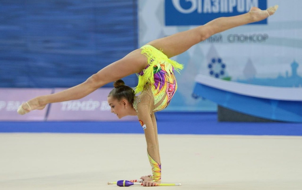 Averina completes breakthrough weekend with two more golds at Berlin Masters Rhythmic Gymnastics