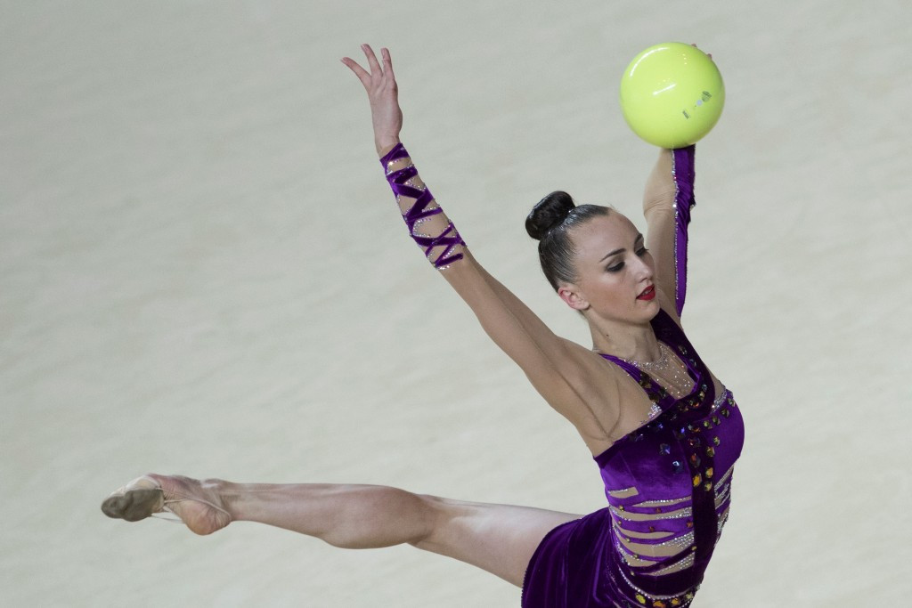 Ganna Rizatdinova was another double gold medal winner ©Getty Images