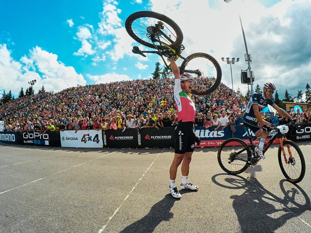 Schurter defends men's elite title as UCI Mountain Bike World Championships conclude