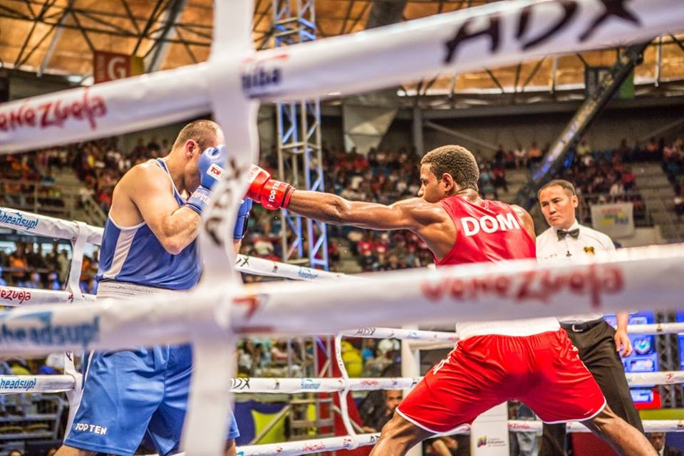 Dominican Republic's Sanchez Marte beats professional opponent on opening day of Olympic boxing qualifier