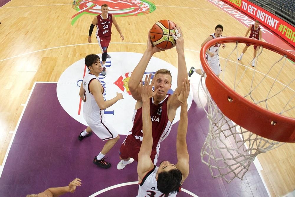 Latvija šobrīd FIBA © FIBA Senior Men pasaules rangā ir 27. vietā