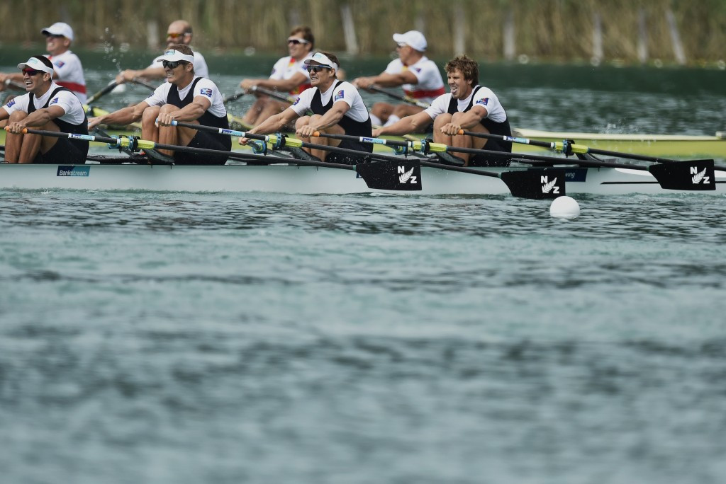 New Zealand will take Russia's spot at Rio 2016 if the CAS upholds the ban placed on their men's quadruple sculls crew ©Getty Images