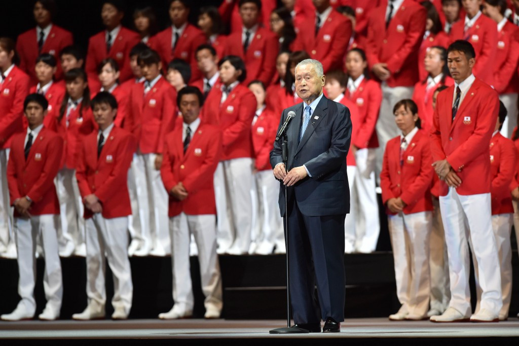 Tokyo 2020 President criticises Japanese Olympic team for not singing national anthem properly