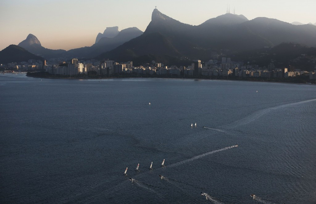 Sailors express concern over Guanabara Bay water quality after oil stains boats