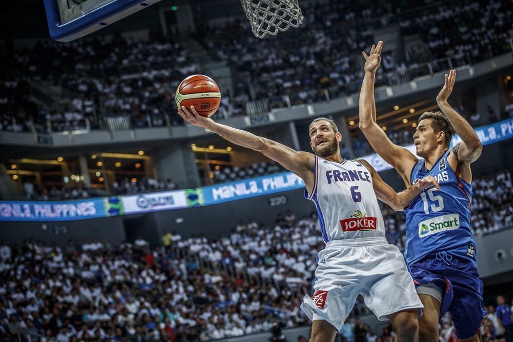 France earn victory over Philippines as third FIBA Olympic qualifier gets underway