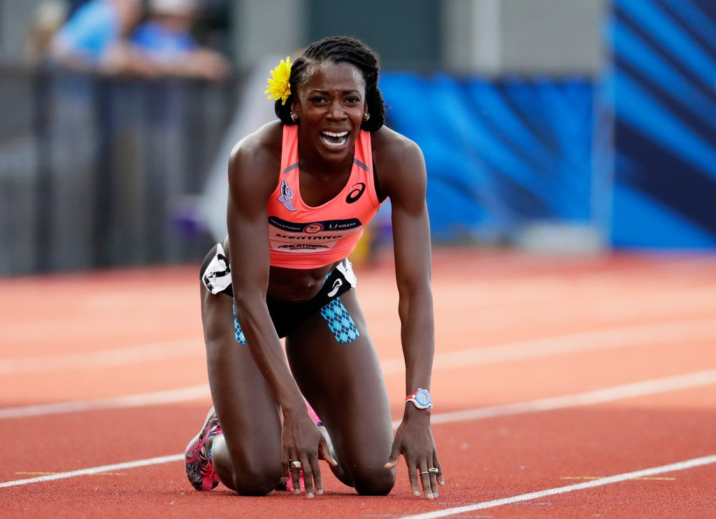 "American middle distance runner Alysia Montano has branded the IAAF as a ""corrupt organisation"" this week due to its alleged failure to deal with doping problems ©Getty Images"
