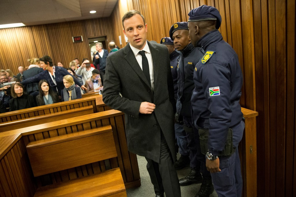 Oscar Pistorius has been sentenced to six years in prison for the murder of Reeva Steenkamp ©Getty Images