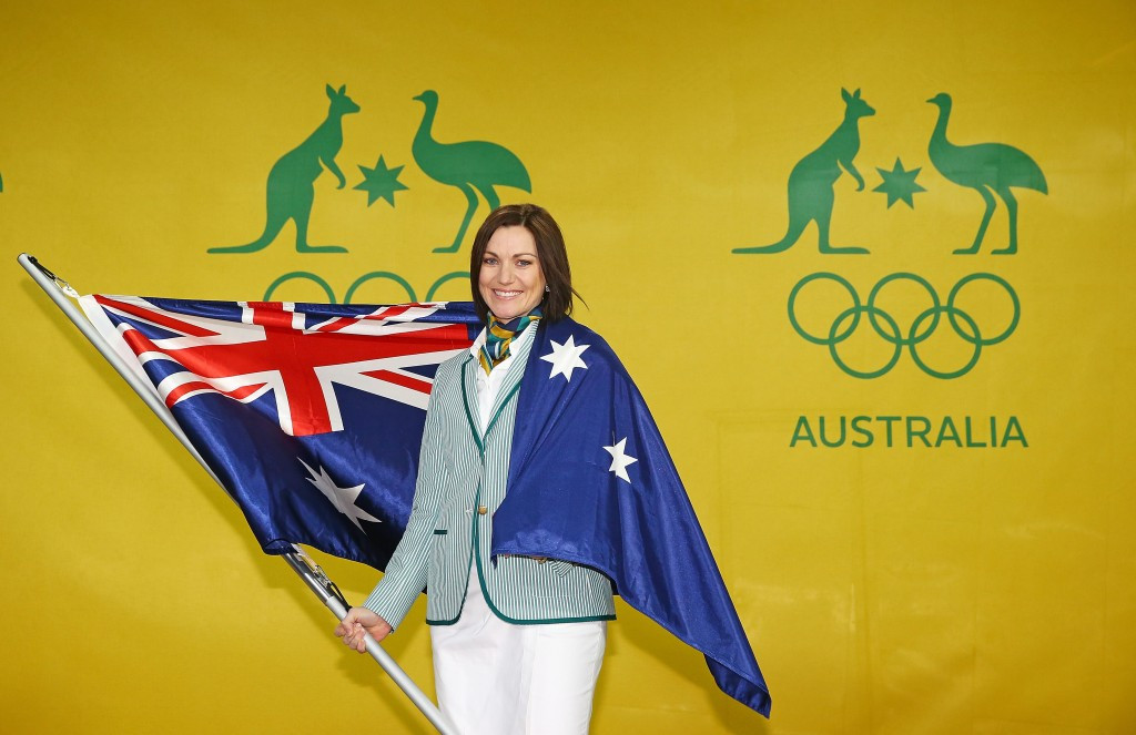 Cycling champion Meares selected as Australian Flagbearer for Rio 2016