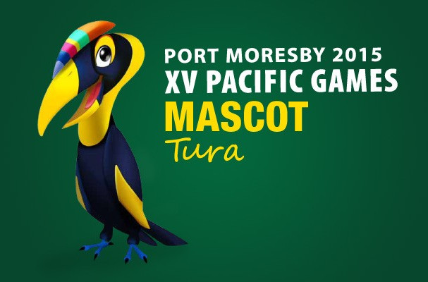 The toilet paper was branded with the logo of Tura the Kokomo, the 2015 Pacific Games' official mascot