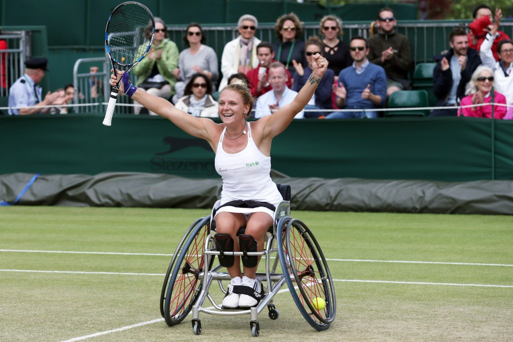 Britain's top female players to clash as wheelchair singles debuts at Wimbledon
