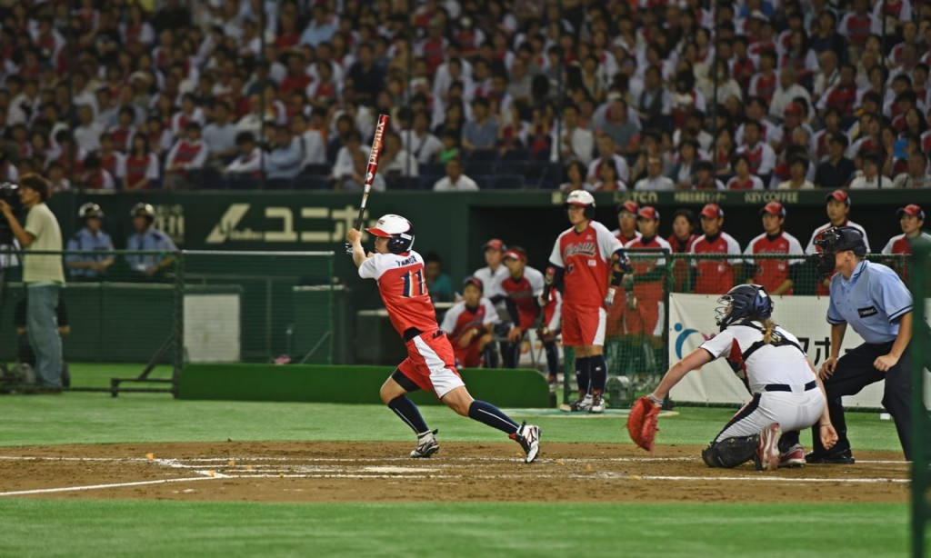 WBSC hail popularity of softball in Japan after over 30,000 attend clash at Tokyo Dome