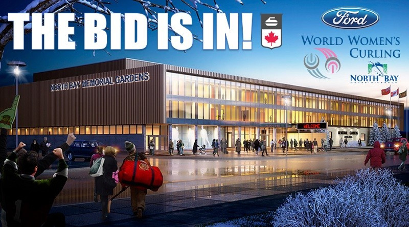 North Bay in Ontario formally submits bid for 2018 World Women's Curling Championships