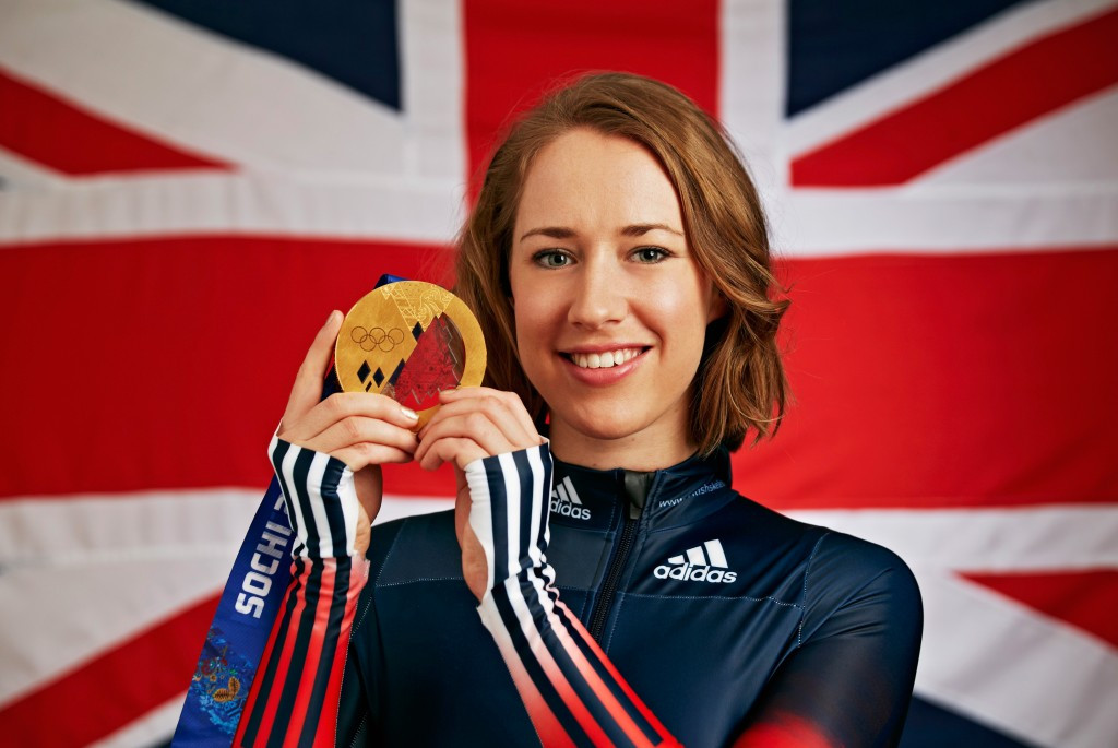 Sochi 2014 champion Lizzy Yarnold was originally a heptathlete before taking up skeleton ©Getty Images