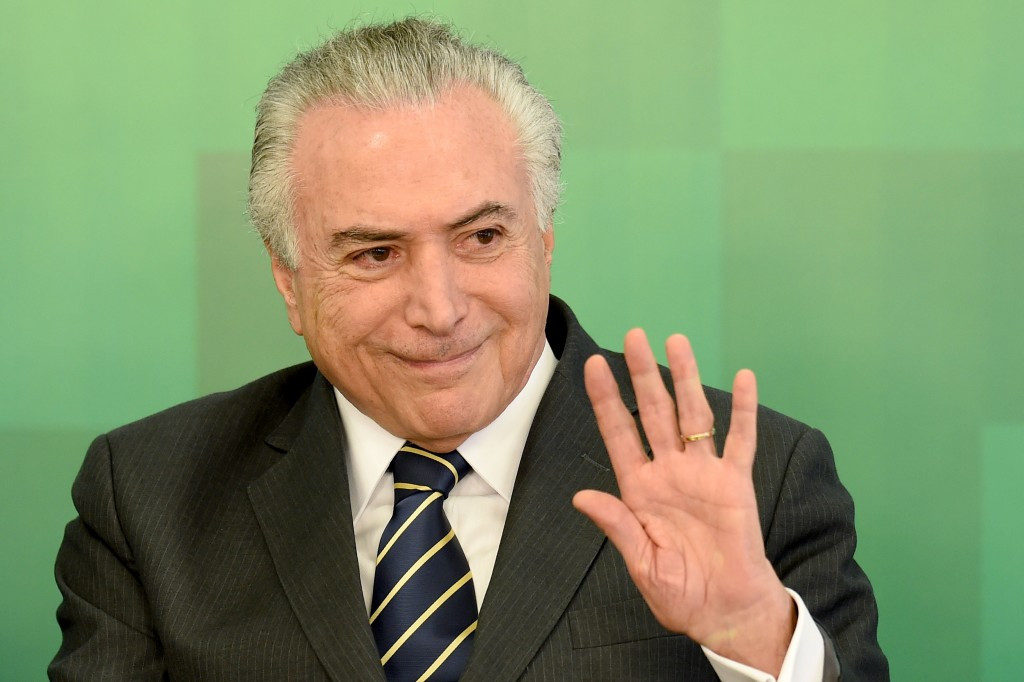 Michel Temer has sought to alleviate fears surrounding Rio 2016 ©Getty Images