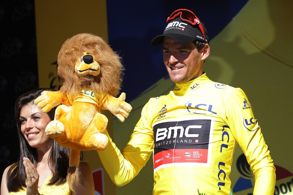 Van Avermaet solos to victory to claim Tour de France yellow jersey