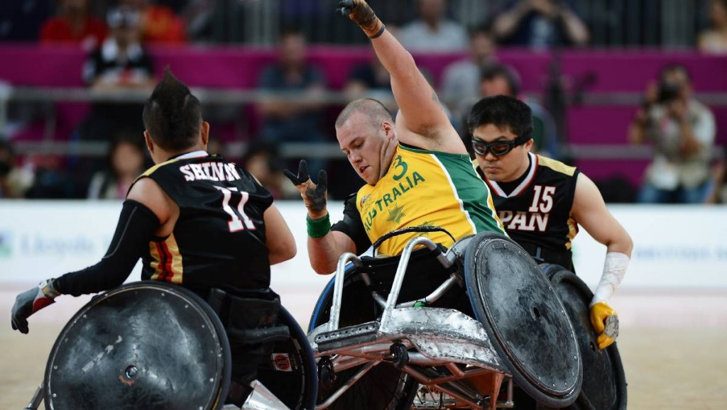 Australia won the 2014 IWRF World Championship in Odense in Denmark ©Getty Images