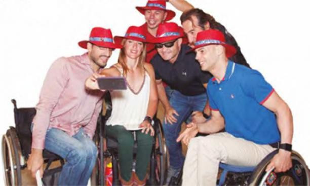 """Spanish Paralympic Committee begin """"take our hats off"""" campaign to boost support at Rio 2016"""
