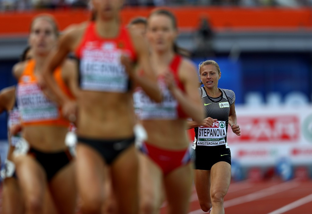 Yuliya Stepanova was disqualified in 800m heat at the European Athletics Championships ©Getty Images