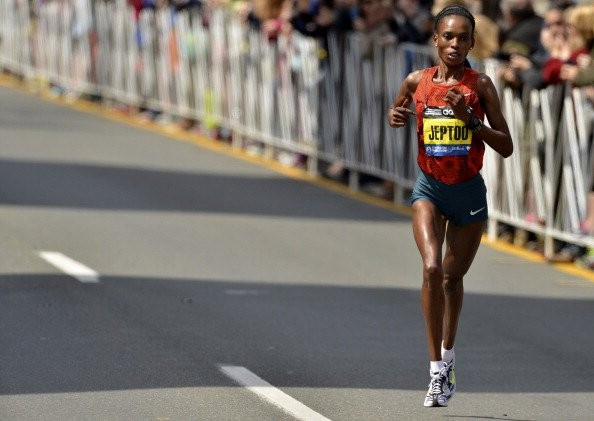 Rita Jeptoo is alleged to have hung-up during today's CAS hearing ©Getty Images