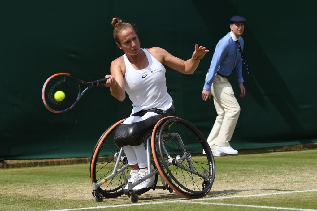 Reid secures Wimbledon wheelchair singles title