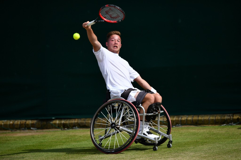 Houdet and Reid through to last four as wheelchair tennis singles debuts at Wimbledon