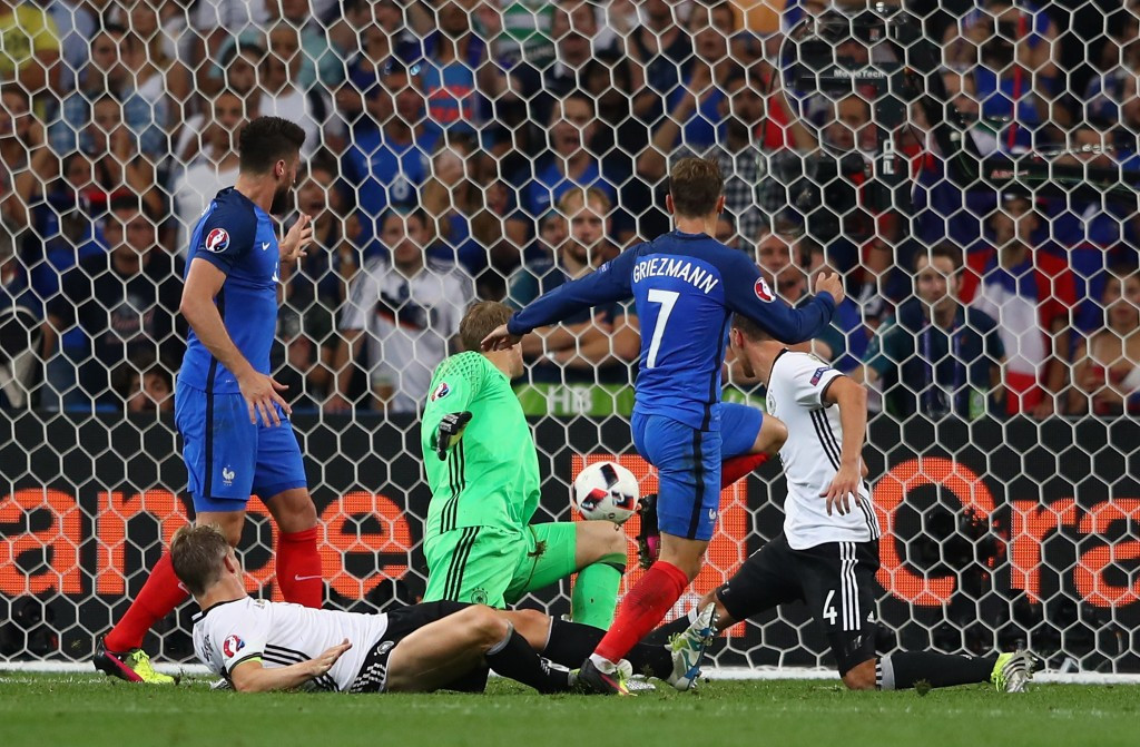 Griezmann fires France into Euro 2016 final in victory over Germany