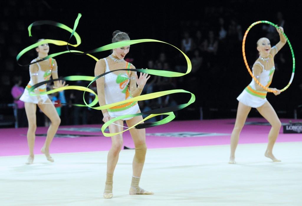 Azeri judge Yevgeniya Zhidkova was sanctioned for biased scoring at the 2015 Rhythmic Gymnastics World Championships ©Getty Images