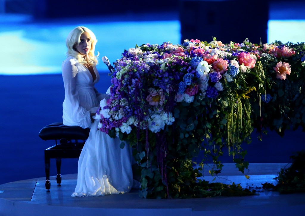 America's six-time Grammy Award winner Lady Gaga was the headline act of the Opening Ceremony