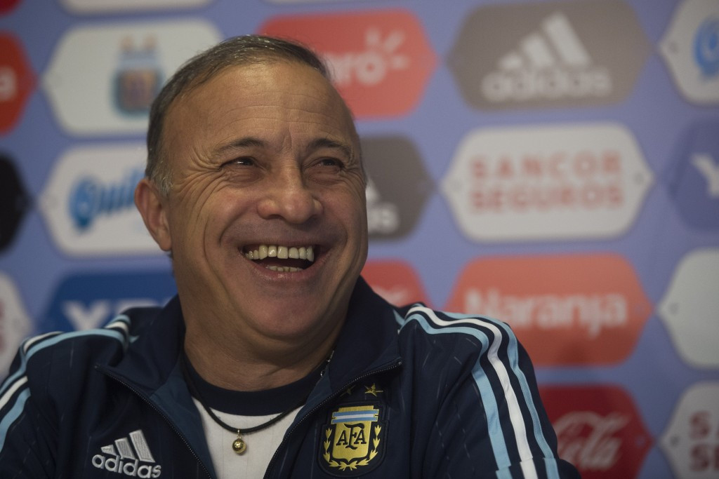 New Argentina head coach vows to lead football team at Rio 2016 even if only 13 or 14 players in squad