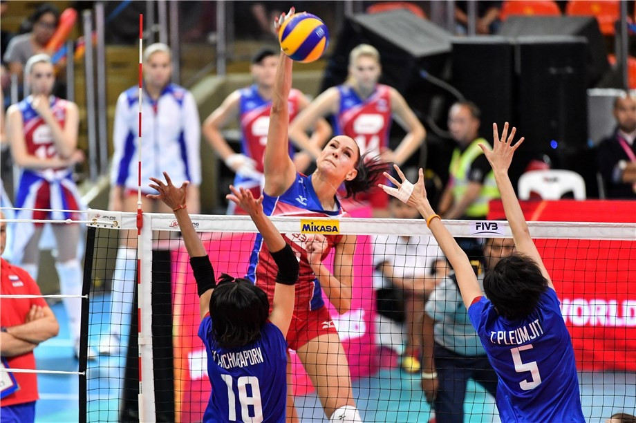 Russia end home hopes to reach FIVB World Grand Prix last four