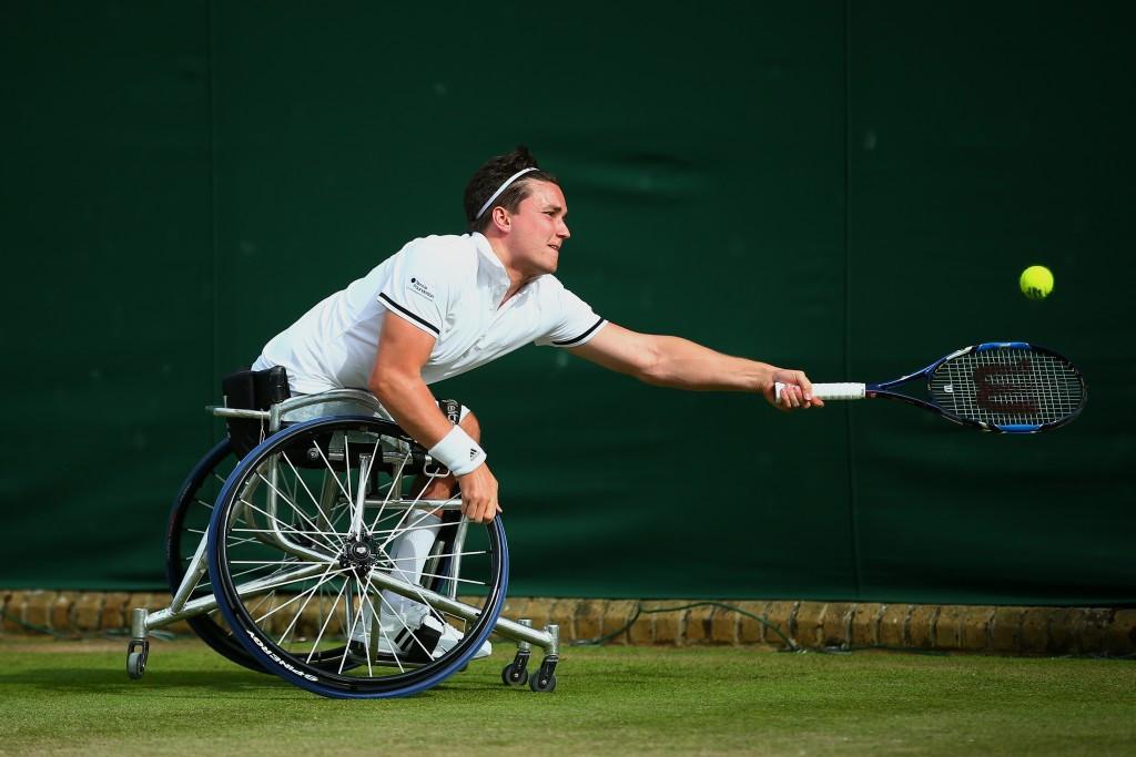 Home interest in Wimbledon wheelchair tennis final as Reid goes through