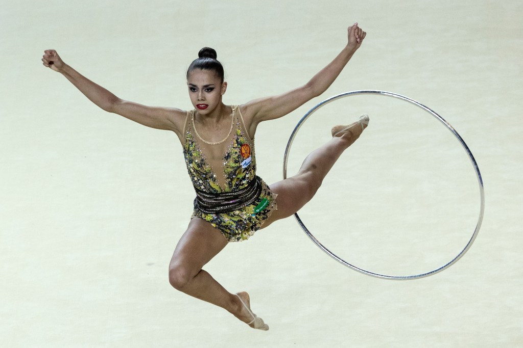 Mamun beats favourite Kudryavtseva to gold at FIG Rhythmic World Cup