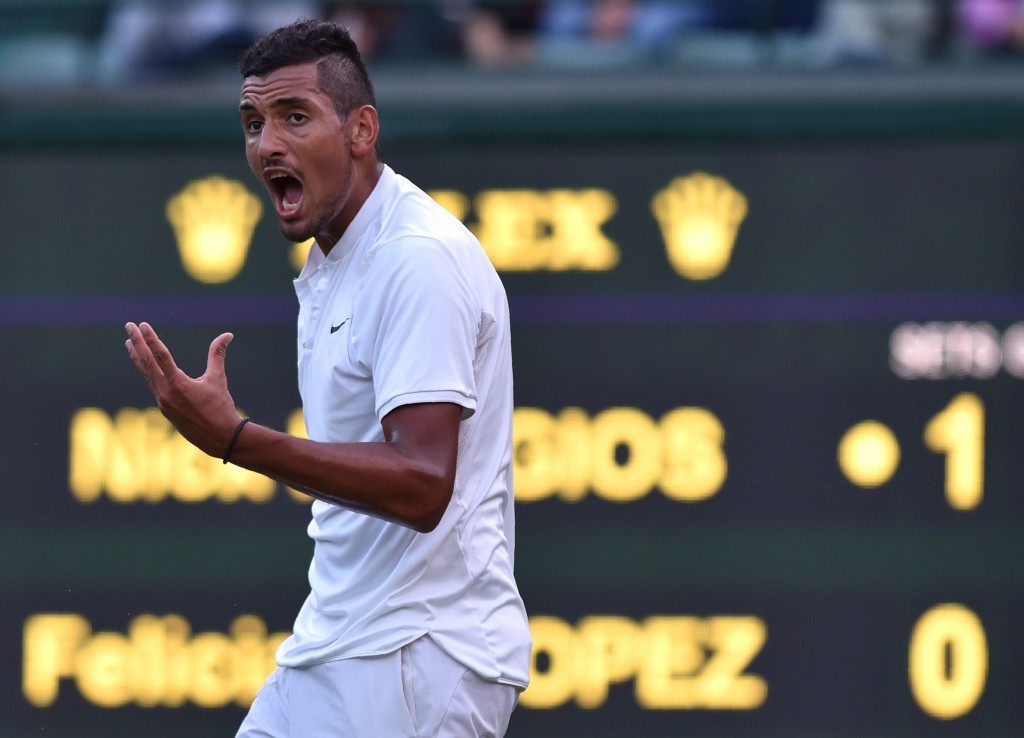 Nick Kyrgios withdrew from representing Australia at Rio 2016 due to a row with Chef de Mission Kitty Chiller ©Getty Images
