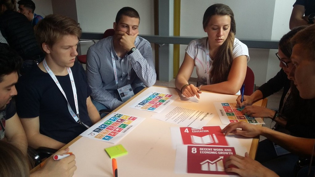 European Athletics-UNESCO Young Leaders Forum: Day four