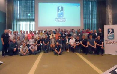 Forty-two countries represented at IIHF Referees Summit