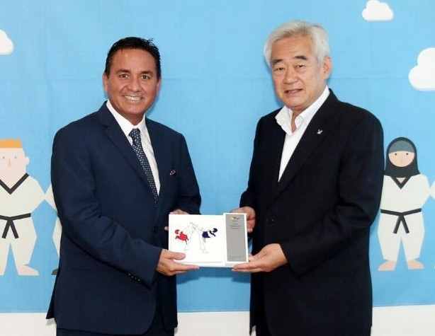 Mexican Taekwondo Federation President visits WTF headquarters