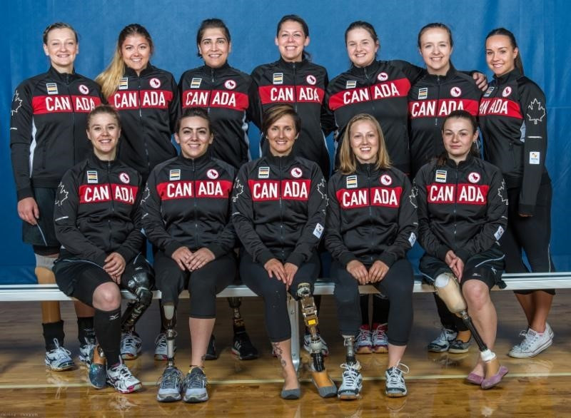 Twelve players have been selected for Canada's debut in the women's sitting volleyball tournament at the Rio 2016 Paralympics ©CPC