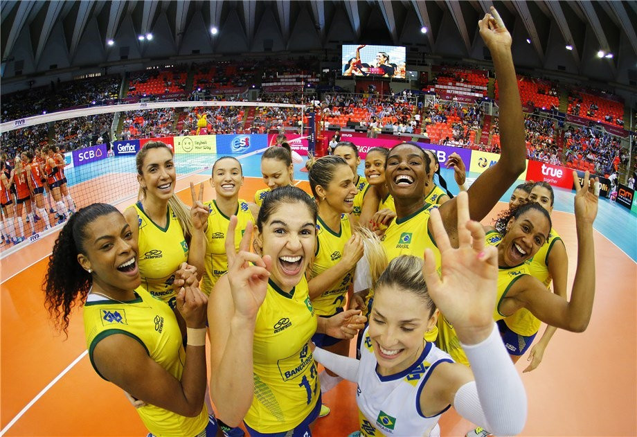 Brazil and United States to clash in FIVB Grand Prix final