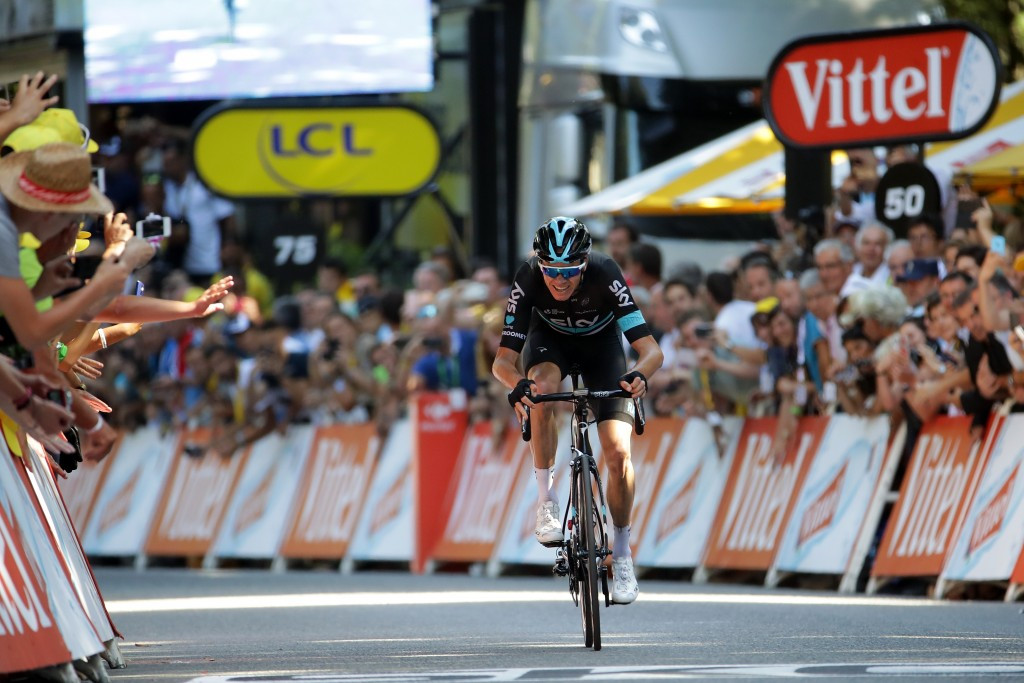Surprise attack earns Froome yellow jersey and stage eight ...