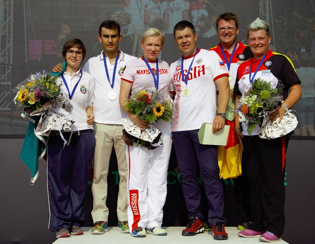 Russia win mixed teams trap title at European Shotgun Championship