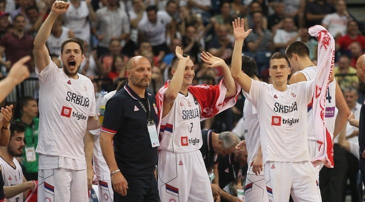 Serbia and Croatia book Rio 2016 basketball berths