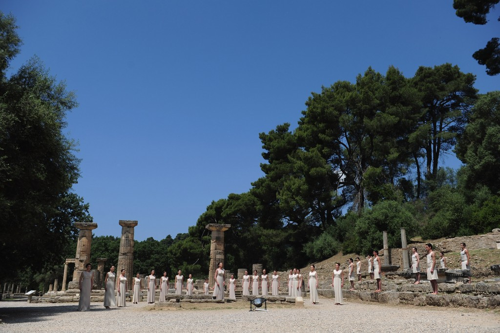Could a site near Ancient Olympia host the Summer Olympics permanently? ©Getty Images