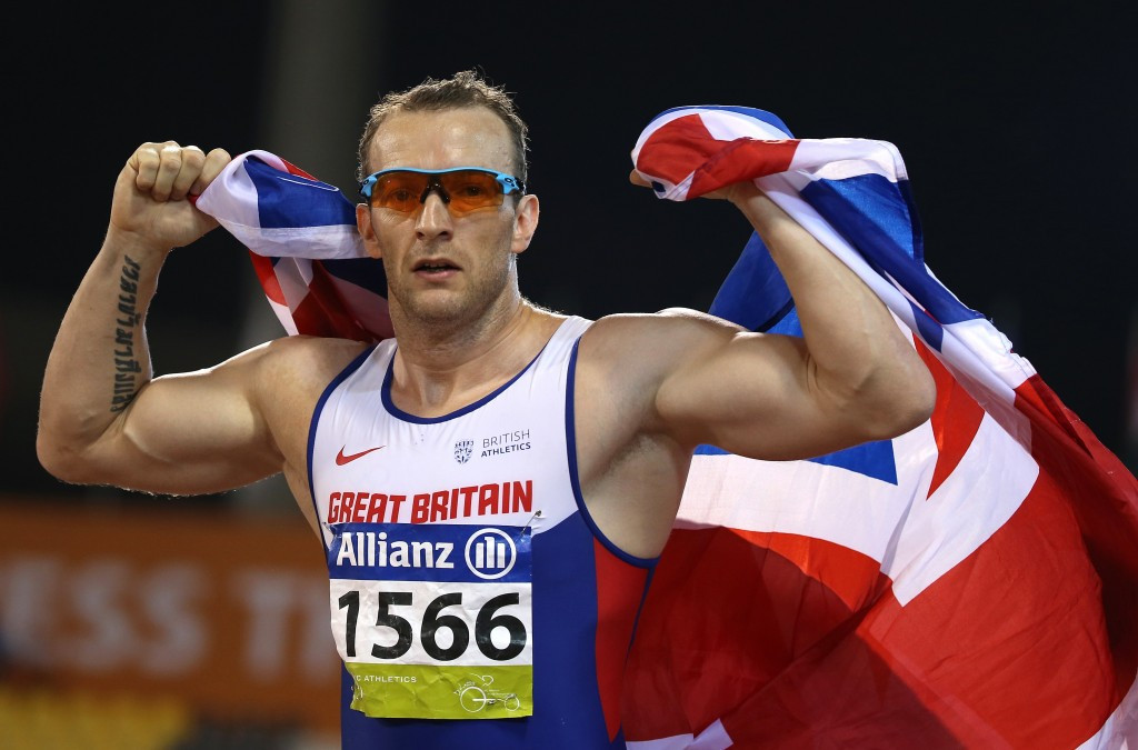 Richard Whitehead showed blistering pre-Rio 2016 form by breaking the world record ©Getty Images