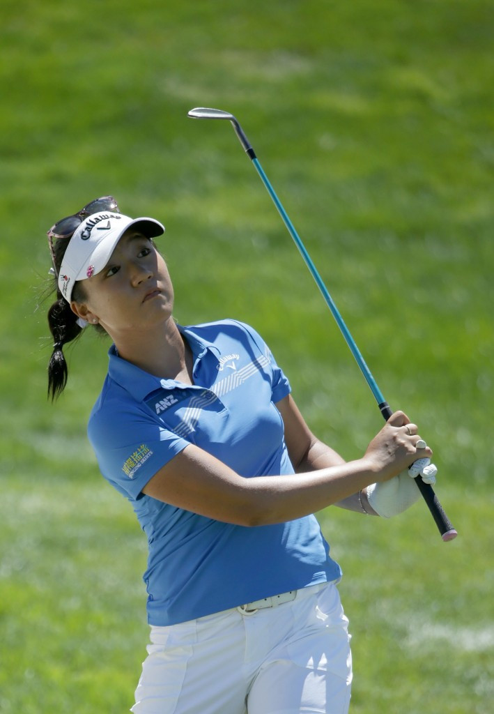 Final hole putt sees Ko seize lead at US Women's Open