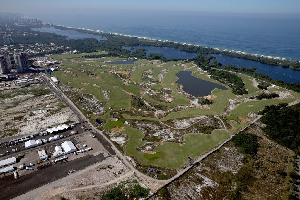 Concerns that the Rio golf course could fall into disrepair have been denied ©Getty Images