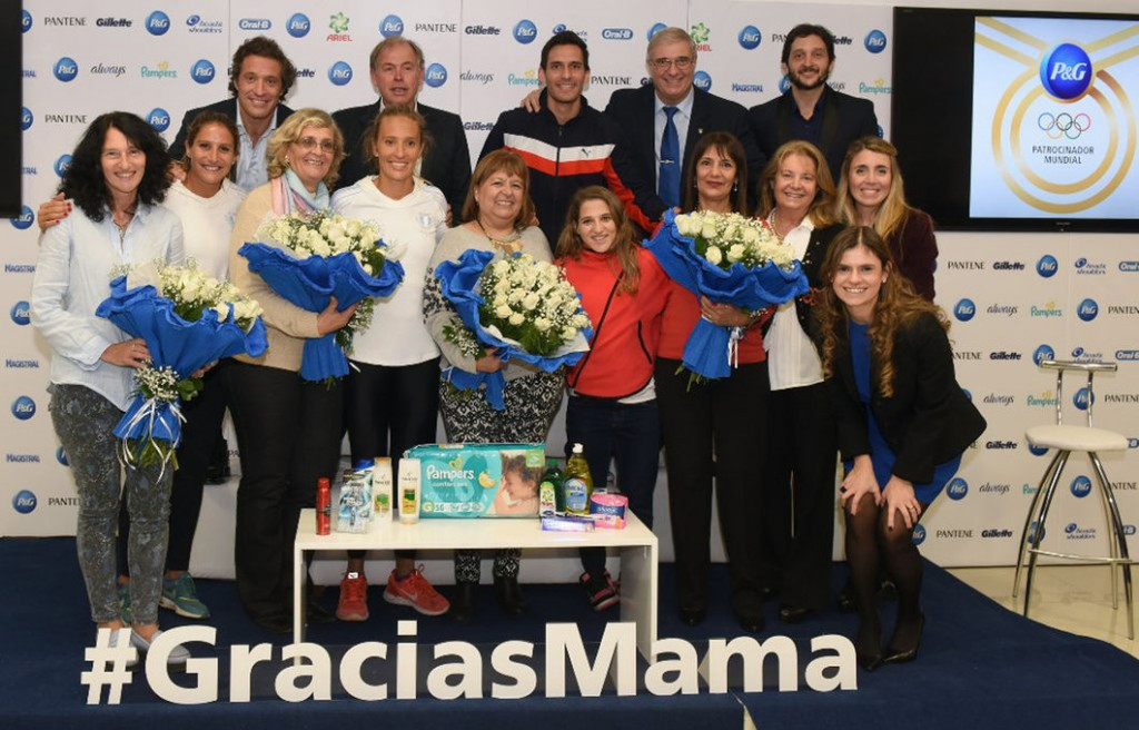 Argentine Olympic Committee honour mothers of athletes ahead of Rio 2016